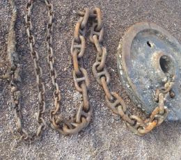 Dump weight & chain mooring